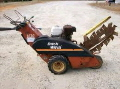 Used Equipment Sales TRENCHER, RT12  ON TIRES in Eunice LA