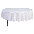 Rental store for TABLECLOTH, 78  RND  WHT in Eunice LA