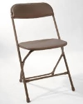 Rental store for CHAIR, BROWN  FOLD in Eunice LA