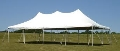 Rental store for TENT, CANOPY WHITE  20 X 40 in Eunice LA