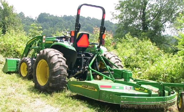 Where to find TRACTOR W BUSHHOG PKG. in Eunice
