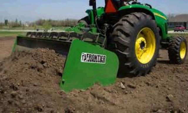 Where to find TRACTOR W BOX BLADE PKG. in Eunice