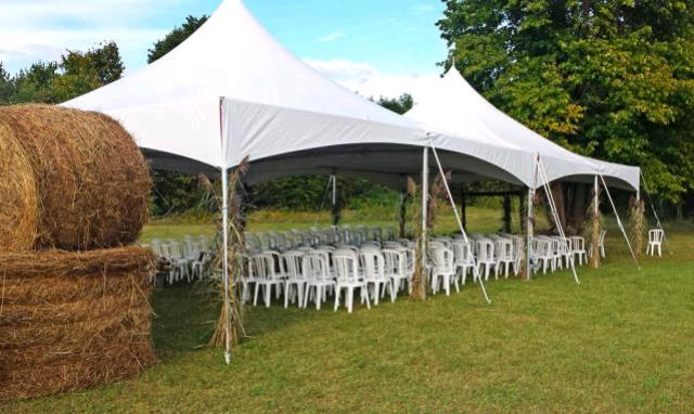 Where to find TENT, FRAME WHITE  20 X 60 in Eunice