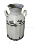 Rental store for VASE, WHITE GALVANIZED in Eunice LA