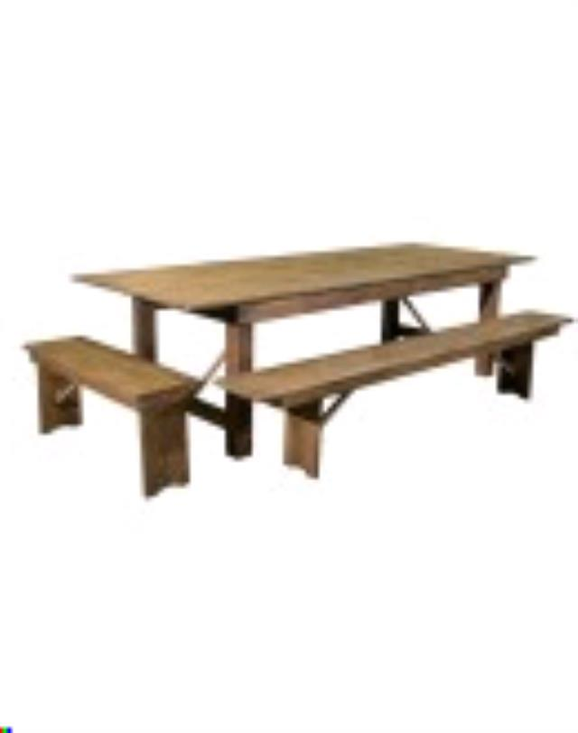 Where to find TABLE, FARMHOUSE  10FT in Eunice
