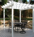 Rental store for PERGOLA, WHITE PLASTIC in Eunice LA