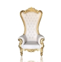 Rental store for CHAIR, THRONE  WHITE GOLD in Eunice LA