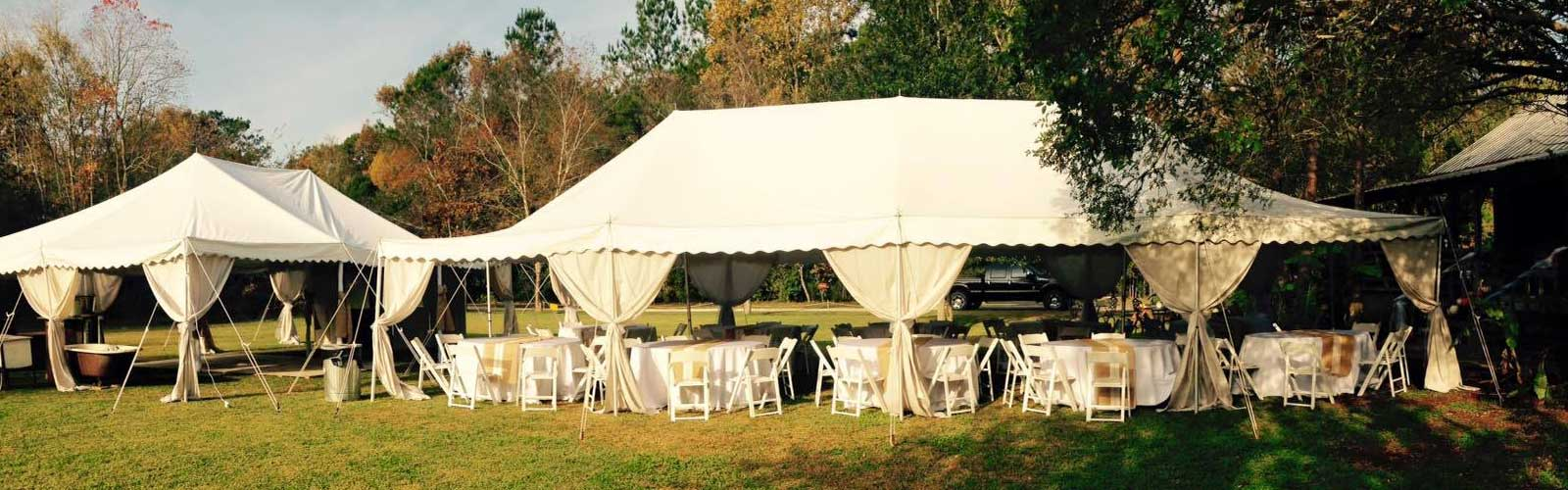 Tent rentals in Eunice / Opelousas Louisiana